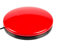Big Buddy Button 115, rot
