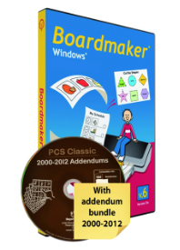 Boardmaker 6.0 für Windows mit Addendum-Bundle