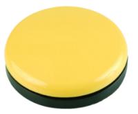Buddy Button 63, gelb