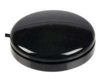 Buddy Button 63, schwarz