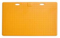 CareMat A mit Kabel, rechteckig, 1100 x 700 mm, normale Größe, normal offen, gelb