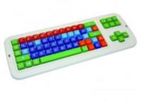 Clevy Tastatur II, QWERTZ mit Großbuchstaben