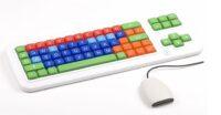 Clevy Tastatur II, QWERTZ mit Großbuchstaben, kabellos