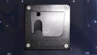Montageplatte universal  mit Monty UGA-Adapterplatte