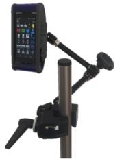 Magic-Friction-Arm mit Defencegriff und Rohr-/Tischklemme
