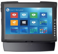 EyeControl13 ADS Augensteuerung,  Komplettsystem mit Alea IG30 GazeCase