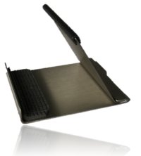 Tischständer InoxStand klappbar, Kommunikationsgerätehalter 8 - 12 Zoll
