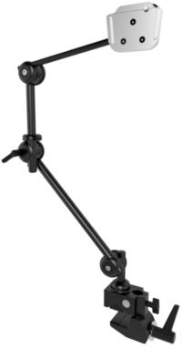 Monty Rollstuhlhalterung S 3-D mit Rohrklemme oder Tischklemme