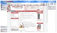PCControl Reha,  Eingabesoftware mit Bildschirmtastatur