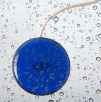 Piko Button 50 regular, blau, wasserfest