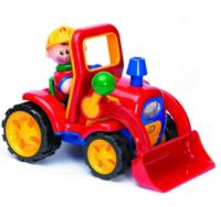 Adaptiertes Spielzeug - Bagger