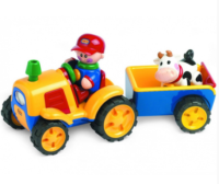 Adaptiertes Spielzeug - Traktor