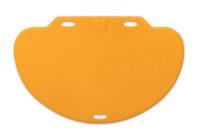 CareMat C mit Kabel, halbrund, 1100 x 700 mm,  normale Größe, Universalplatine programmierbar, gelb