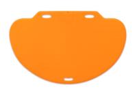 CareMat C mit Funk, halbrund, 1100 x 700 mm, normale Größe, Eldat-Easywave, gelb