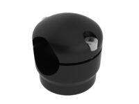 Monty 3D Rahmenklemme, rund, 34 mm